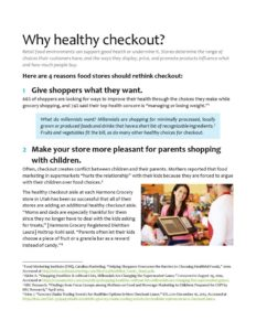 thumbnail of Why healthy checkout